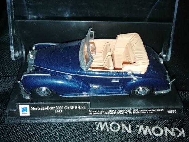 Miniatura antiga MERCEDES BENZ 300 S Cabriolet - 1955