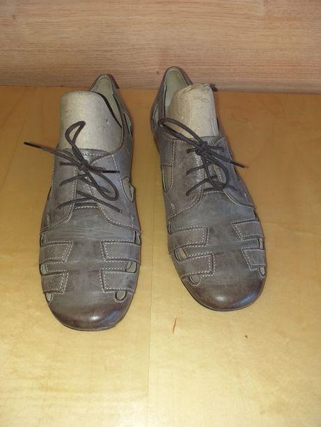 Sandały skórzane firmy McArthur rozm. 38