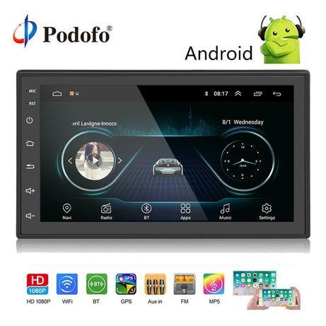 """Авто магнитола 2DIN Android GPS WIFI 7"""" 2,5D Стекло"""