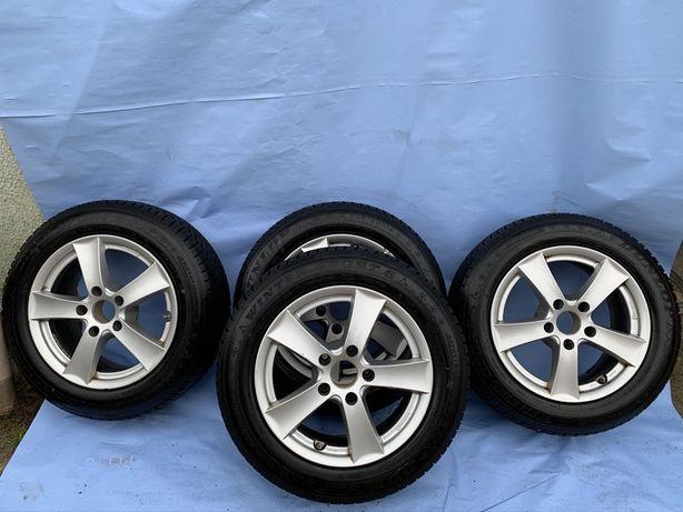 Комплект зима диски 5x120 резина 205/60/R16 Dunlop wintersport5
