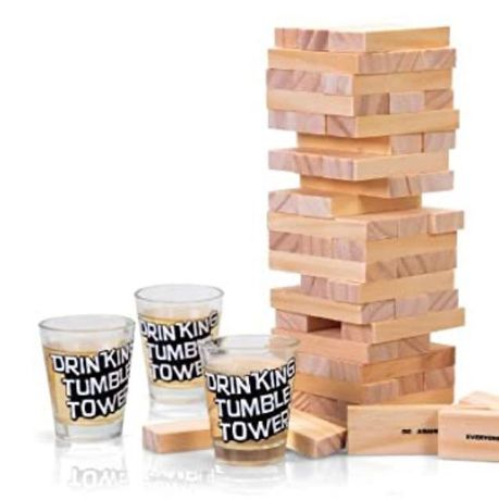 Jogo da torre com copos