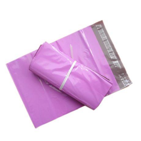Курьерские пакеты розовые, цветные