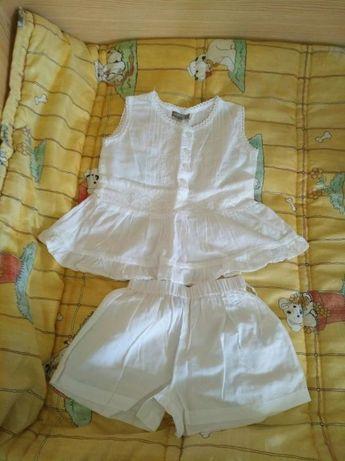 Pijama de menina bordado