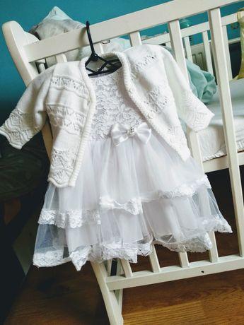 Ubranko / Sukienka do chrztu dla dziewczynki