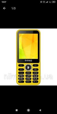 Мобильный телефон Sigma X-style 31 Power Yellow
