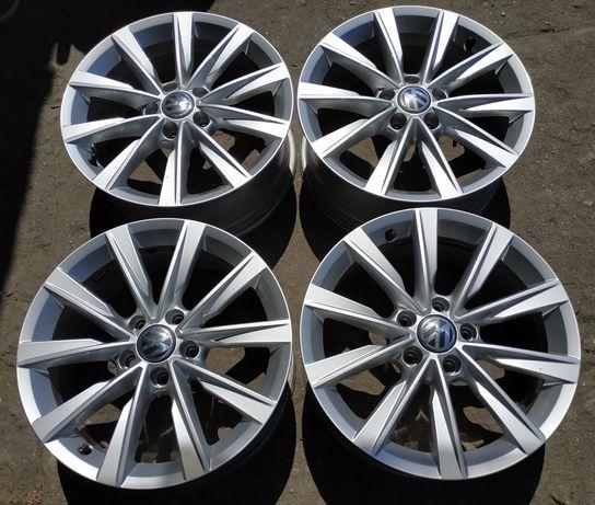 "Felgi aluminiowe 17"" 5x112 VW oryginalne jak nowe 4szt komplet"