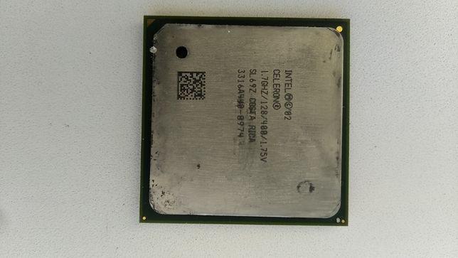Процессоры Intel Celeron 2.4GHz и 1.7GHz Socket 478