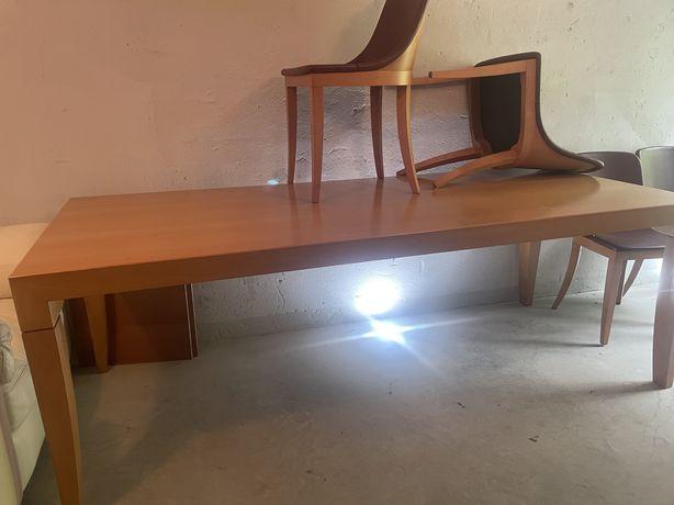 Stół, ława i krzesła