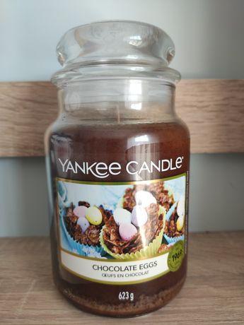 Yankee Candle Chocolate Eggs + Gratis nowy sweterek na świece