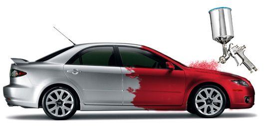 Покраска авто Машина от 8-15 тыс Деталь 1500грн Рихтовка Вытяжка авто