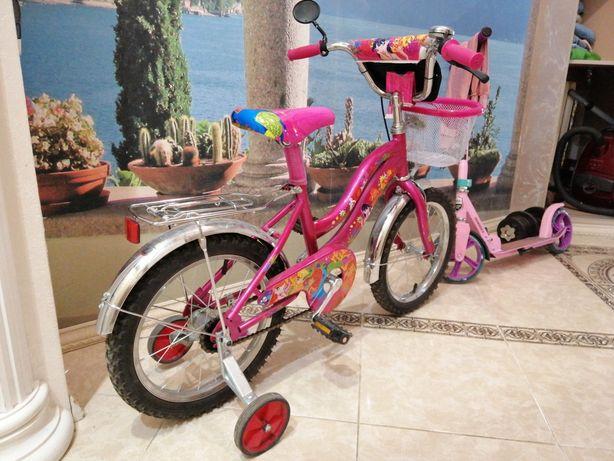 Детский велосипед. Состояние нового.