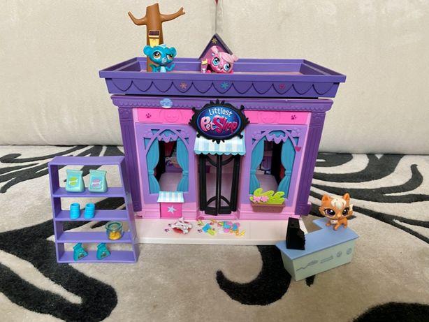 Littlest Pet Shop stylowy salon LPS domek