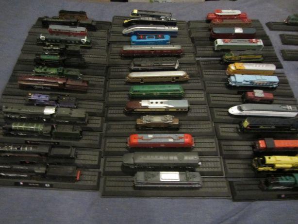 Lokomotywy świata 43 modele.