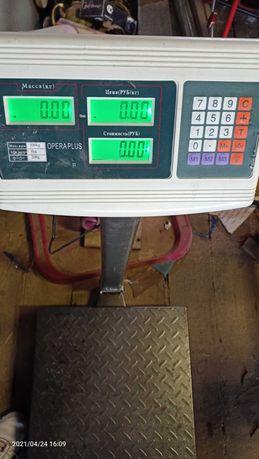 Весы напольные торговые
