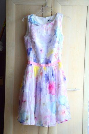 Sukienka w kwiaty VUBU S/M 175