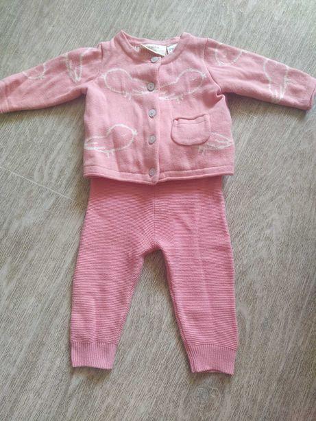Теплый костюм для новорожденных