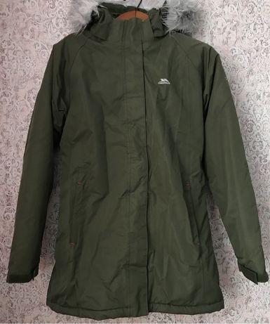 Мембранная зимняя куртка,парка,демисезон Trespass на 11-12 лет,XS-S
