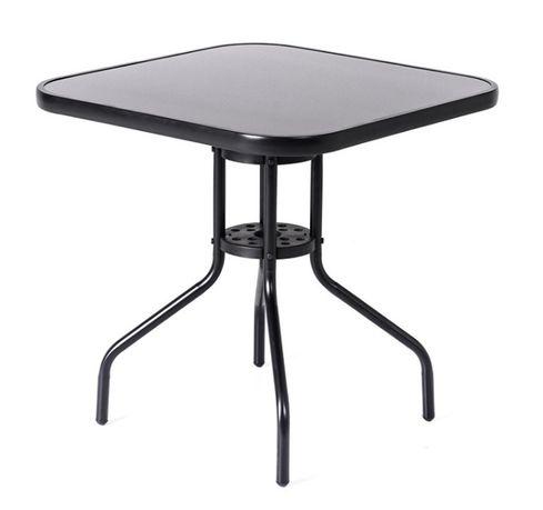 Stół tarasowy stolik ogrodowy szklany na taras
