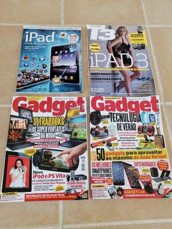 4 Revistas de tecnologia antigas