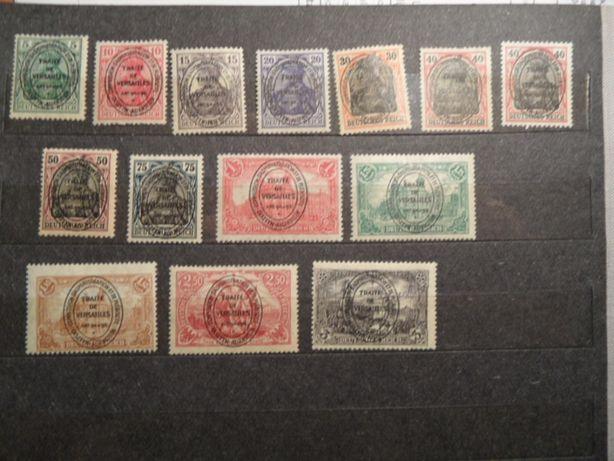 plebiscyt Olsztyn zestaw znaczki pocztowe czyste