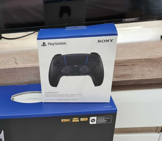 NOWY Pad kontroler DualSense Ps 5 Playstation 5 Czarny