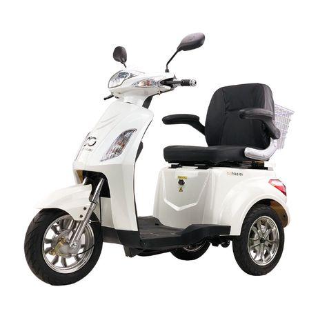 Trójkołowy skuter elektryczny Bili Bike SHINO Skuter inwalidzki