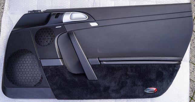 Boczki drzwi tapicerka Porsche 911 997.2 stan idealny - prawe pasażer