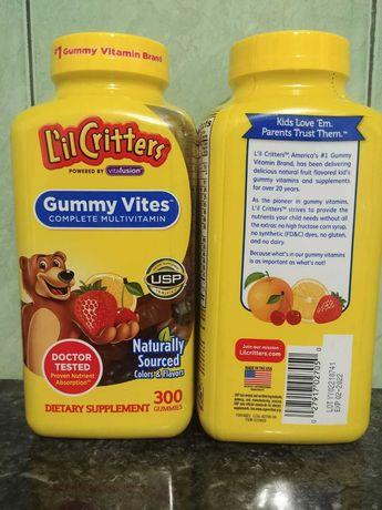Дитячі вітаміни Omega 3, Gummy Vites, Immune C, Calcium+D США Оригінал