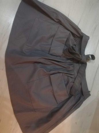 Spódnica skórkowa z kieszonkami