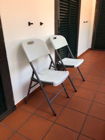 Cadeiras de abrir