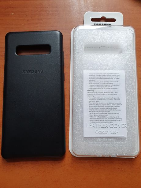 Samsung laether cover s10+ etui