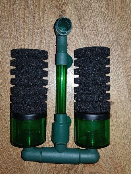 Filtr z ceramiką, filtr gąbkowy, filtr na powietrze, krewetkarium