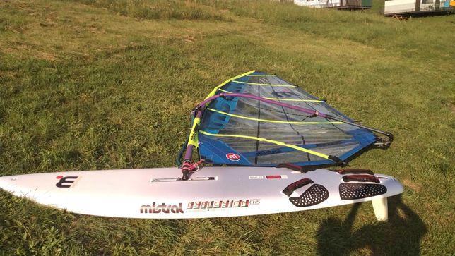 Deska Windsurfingowa Mistral Carbon Zestaw kompletny+Pokrowiec 288/130
