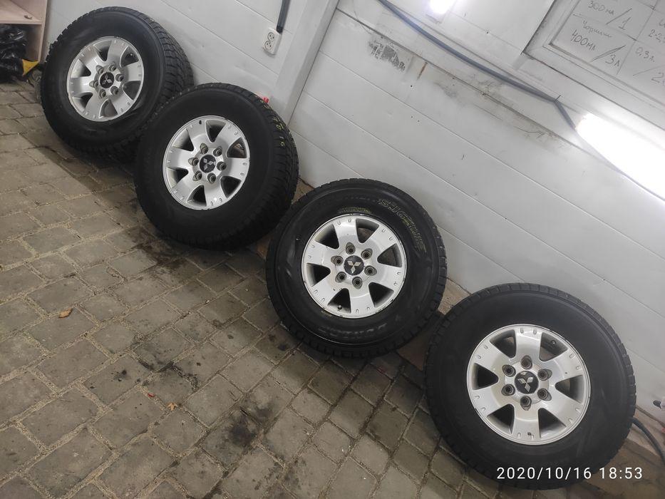колеса зимові 265 70 16 Dunlop SJ6 10mm Pajero, Львов - изображение 1