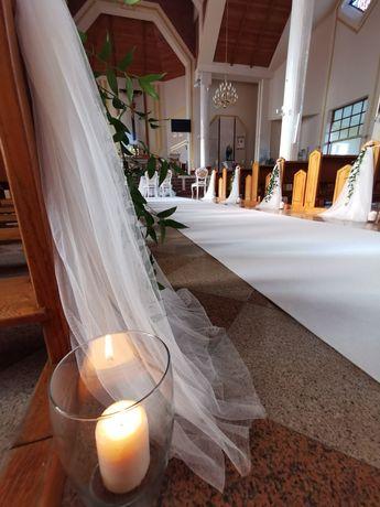 Biały Dywan na Ślub.25m długości. DYWAN ŚLUBNY I DEKORACJE