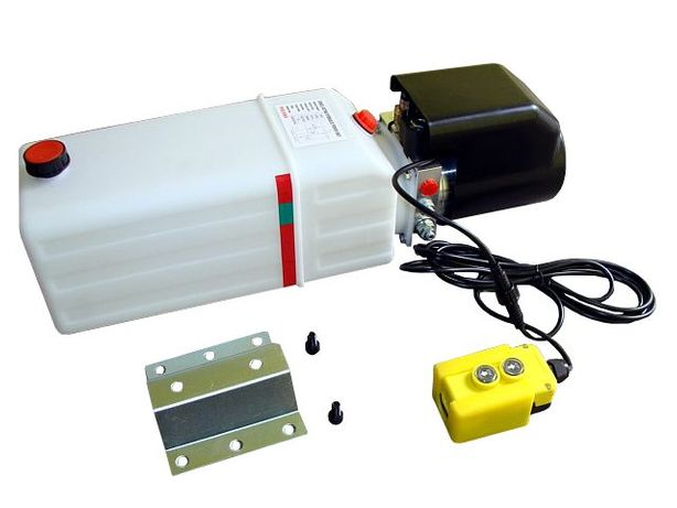 Pompa wywrotu agregat do kipra 12V - sam zrób wywrotkę