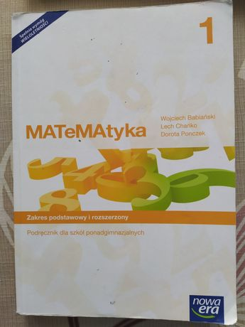 Matematyka zakres podstawowy i rozszerzony