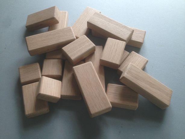 Ціну знижено! Деревяные кирпичики, детский конструктор, Детские кубики