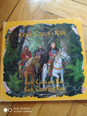 Książka Lech, Czech i Rus w 3 językach