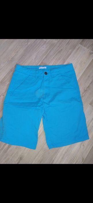 Nowe niebieskie szorty spodenki chinosy Reserved 146 Oświęcim - image 1