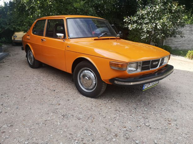 "Saab 99L ""Mandaryn"" klasyk, youngtimer. Zamiana"
