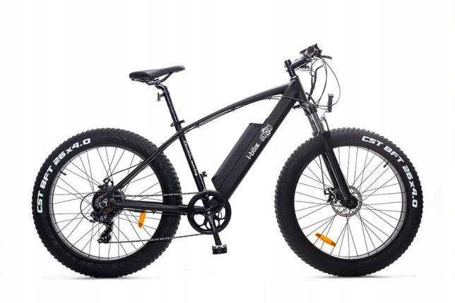 Rower Elektryczny Fatbike 26 Grube Opony Aluminiowy