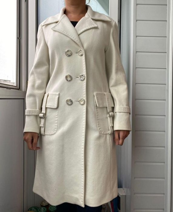 Пальто 100% шерсть Обухов - изображение 1
