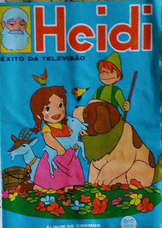 Caderneta de cromos Heidi