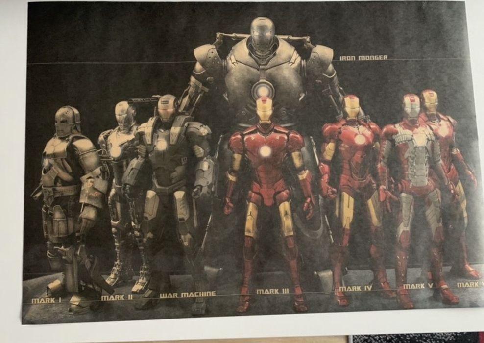 Plakat iron man, avengers - okazja Gdynia - image 1