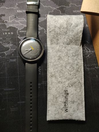 Smartwatch hybrydowy withings move ECG