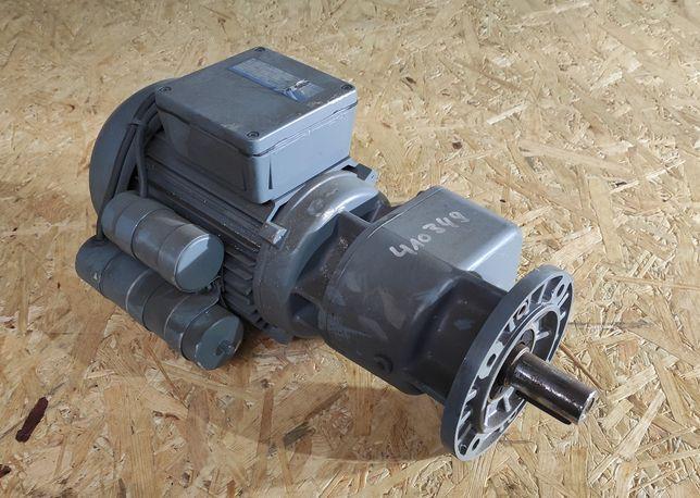 Motoreduktor 0,75 kW 56 obr/min 50 60 RPM jednofazowy 230 V niemiecki