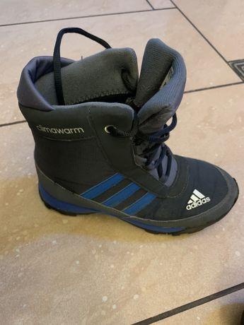 Buty dziecięce zimowe Adidas rozm.33 stan bdb.