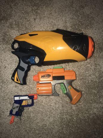 Vendo tres pistolas nerf
