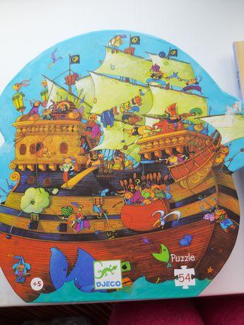 Великий пазл Djeco Корабель Барбадоса